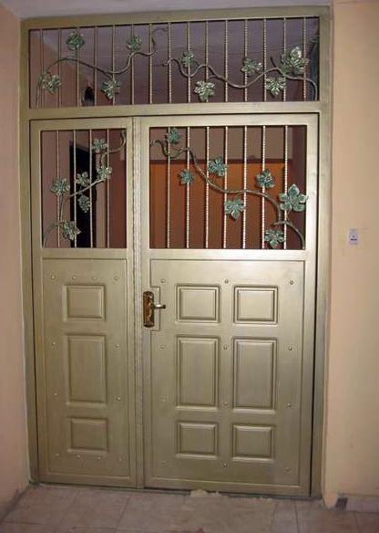заказать железные двери в тамбур
