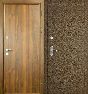 дверь металлическая входная порошковое напыление и ламинат дуб