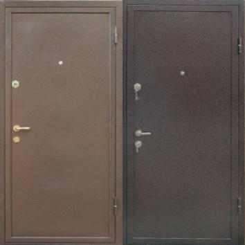 стальные двери с напылением эконом класса