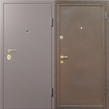 стальная дверь эконом с шумоизоляцией