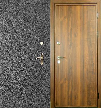 входная металлическая дверь с порошковым покрытием 8000
