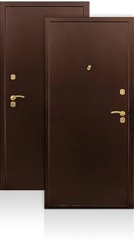 металлические двери с напылением броня