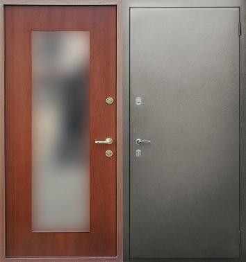 стальные двери российского производства с зеркалами